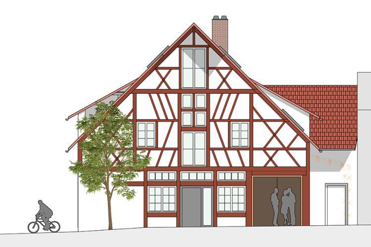 Umnutzung eines gemischtgenutzten Gebäudes zum Wohnhaus