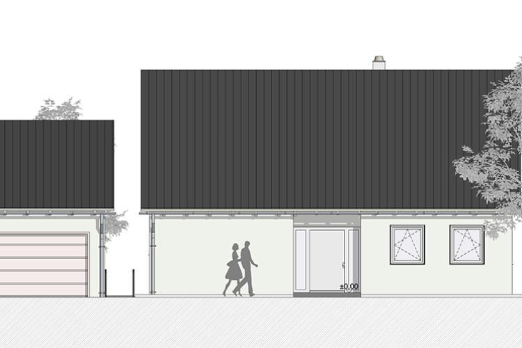 Neubau eines Einfamilienhauses in Kleinsendelbach