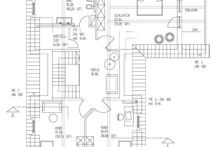 Einfamilienhaus mit Büro- und Ladenbereich