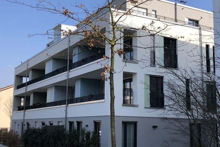 Neubau einer Mehrfamilien-Wohnanlage mit Tiefgarage