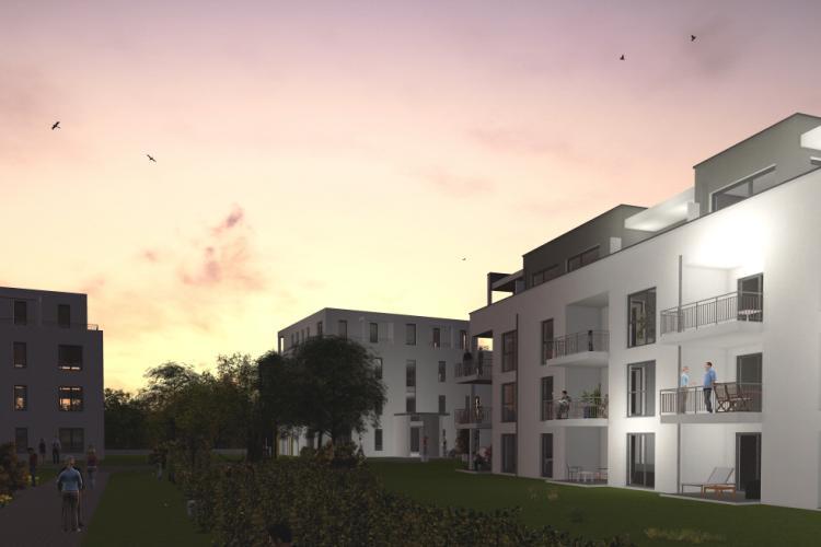 Bauträgerprojekt LOGEN GÄRTEN, Fürth
