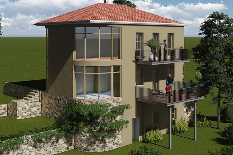Umbau eines bestehenden Gartenhauses