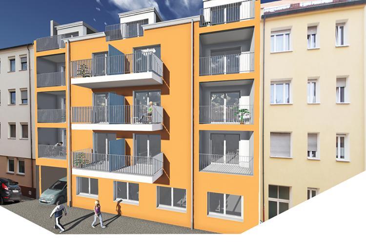 Errichtung eines Studentenwohnheims